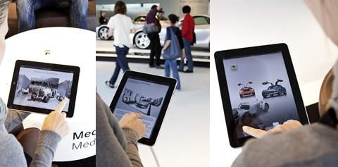 Mercedes-Benz Museum iPad-App