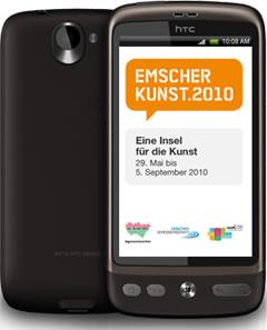 App Emscherkunst.2010 für Android-Smartphones
