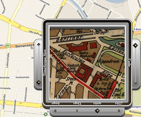 TimeMap Berlin, Karte von 1926