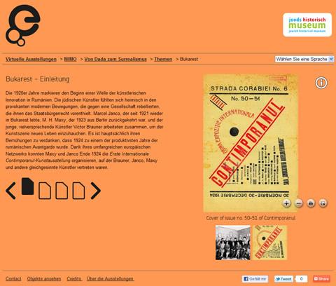 Europeana Virtuelle Ausstellung Von Dada zum Surrealismus - Exponatseite