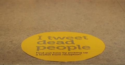 Logo zum Twitter trail im Yorkshire Museum