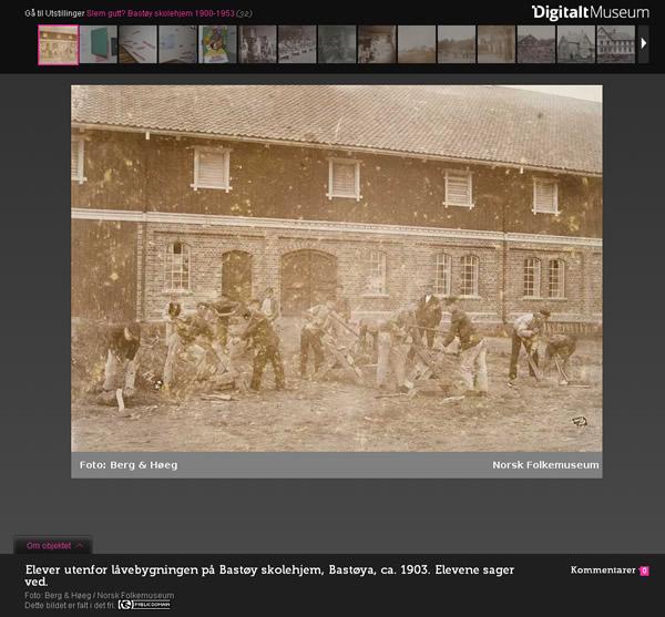 Digitalt Museum Virtuelle Ausstellung